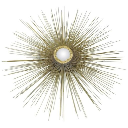 Sunburst Wall Sculpture - Hollywood Regency Curtis Jere Style