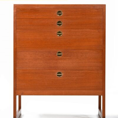Borge Mogensen Danish Teak Chest of Drawers
