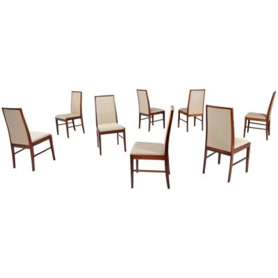 (8) Skovby Danish Rosewood Dining Chairs