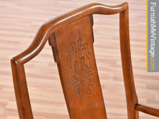 Six Vintage Chin Hua Dining Chairs by Century