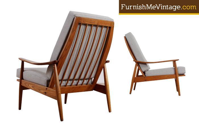 sc 1 st  Furnish Me Vintage & Pair of Restored Heywood Wakefield Lounge Chairs