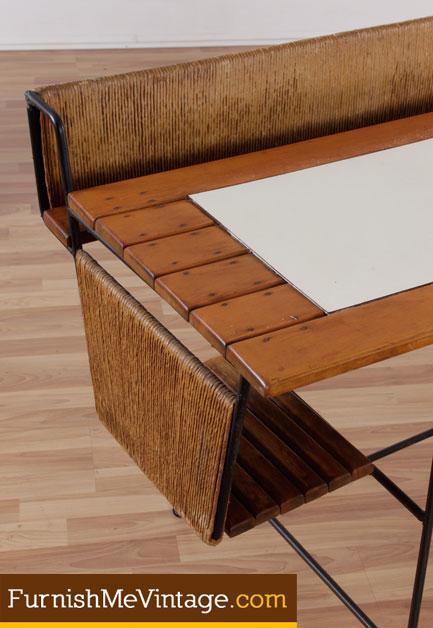 Mid Century Modern Arthur Umanoff Desk And Chair