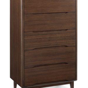 Greenington Currant Dark Walnut 5 Drawer Dresser