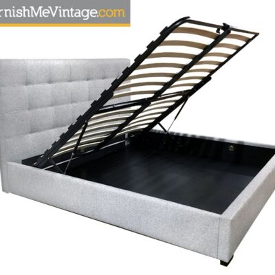 Belle Tufted Platform Bed with Storage