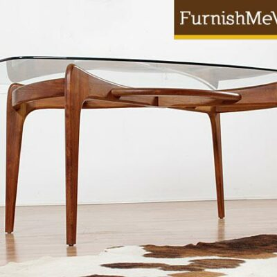 Mid century modern Adrian Pearsall Craft Associates dining table