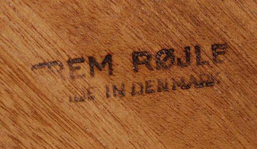 Restored Mid Century Modern Hans Olsen Frem Rejole Dining Set