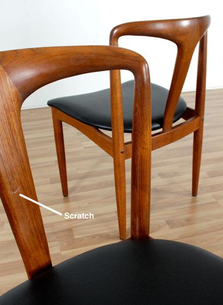 Mid Century Johannes Andersen Juliane Chairs