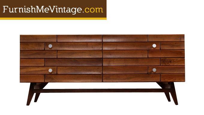 Mid Century Modern Canadian Low Dresser, Modern Mid Century Furniture Canada