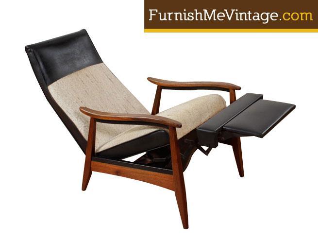 mid century modern recliner Original Mid Century Modern Recliner mid century modern recliner