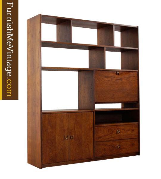 Mid Century Room Divider >> Mid Century Modern Room Divider Bookcase
