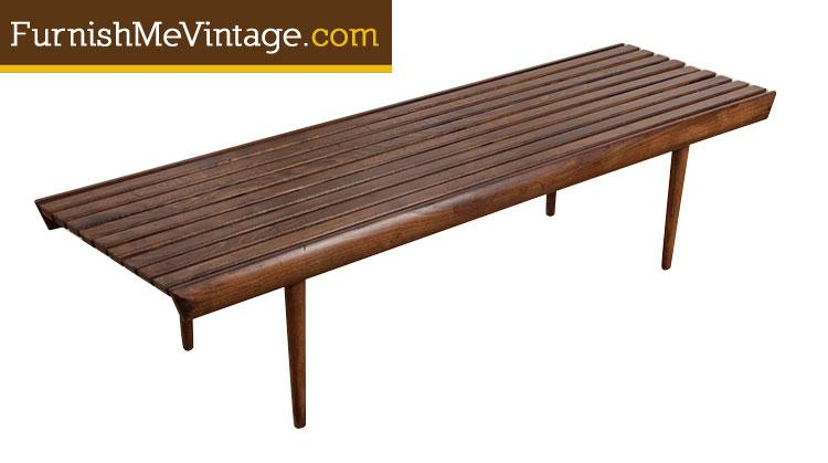 vintage century aspect distinguished slat image fit width product height of mid bench decaso