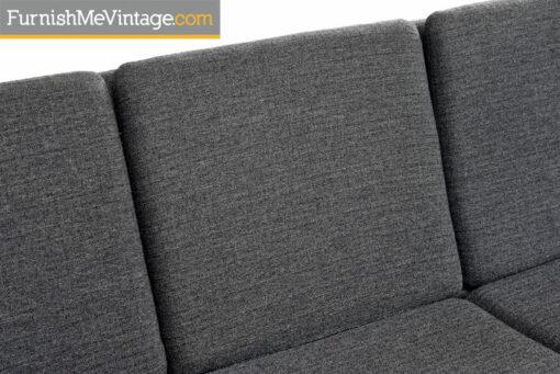 Vintage Scandinavian Modern Sofa Couch by Folke Ohlsson & Fritz Hansen