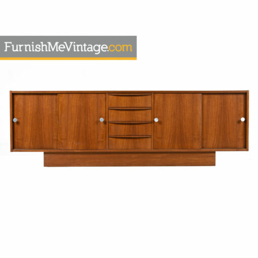 modern,scandinavian,sliding door,credenza,danish teak sideboard,tv stand,media cabinet