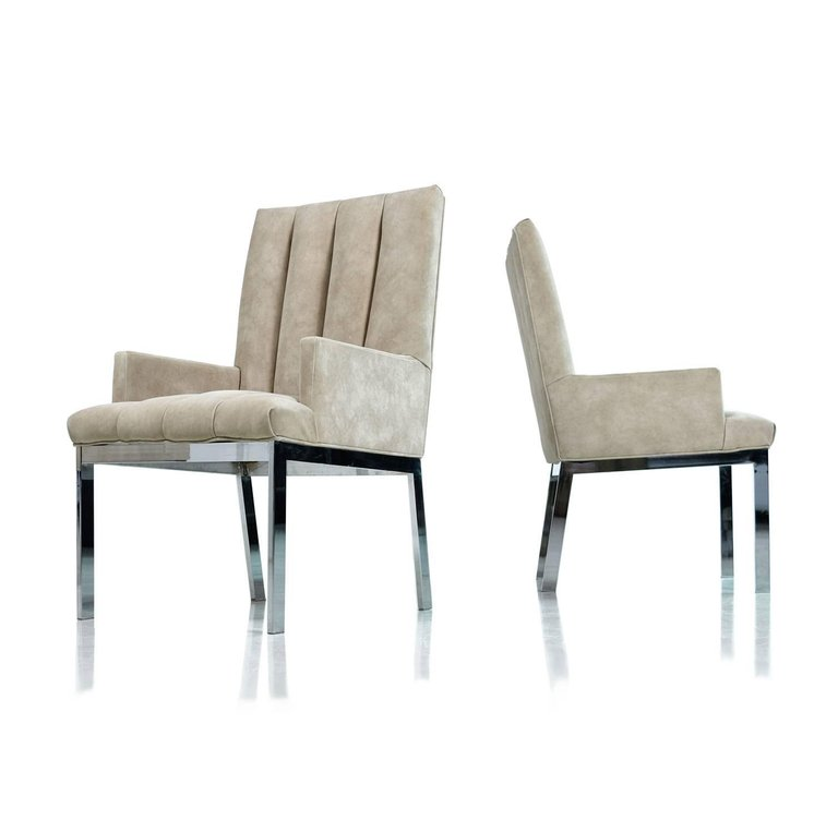 Milo Baughman for Design Institute of America Chrome Chairs  sc 1 st  Furnish Me Vintage & Milo Baughman for Design Institute of America Chrome Chairs ...