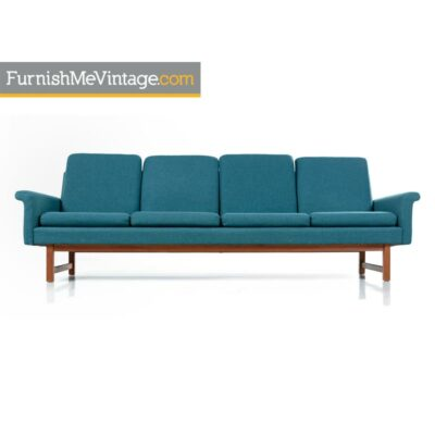 hans wegner style danish sofa