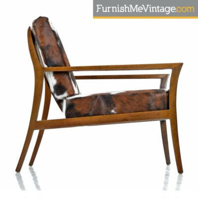 mahogany robsjohn-gibbings lounge chair