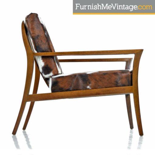 mahogany robsjohn-gibbings lounge chair