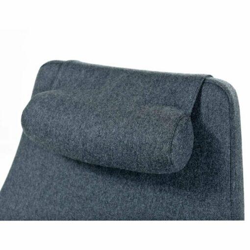 gray metropolitan chair modern