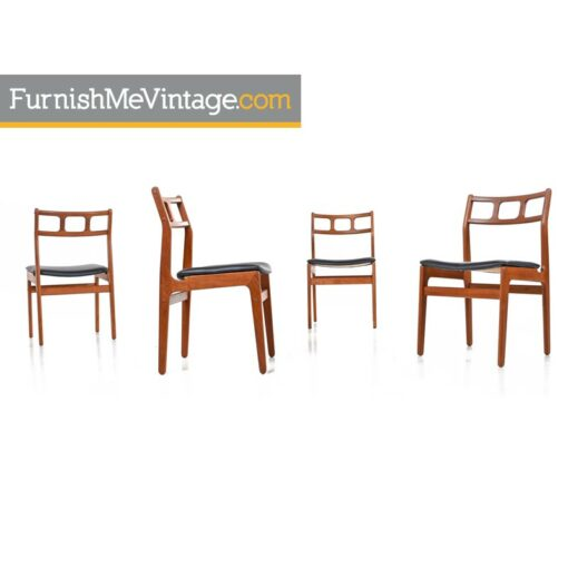 Vintage Teak Dining Chairs