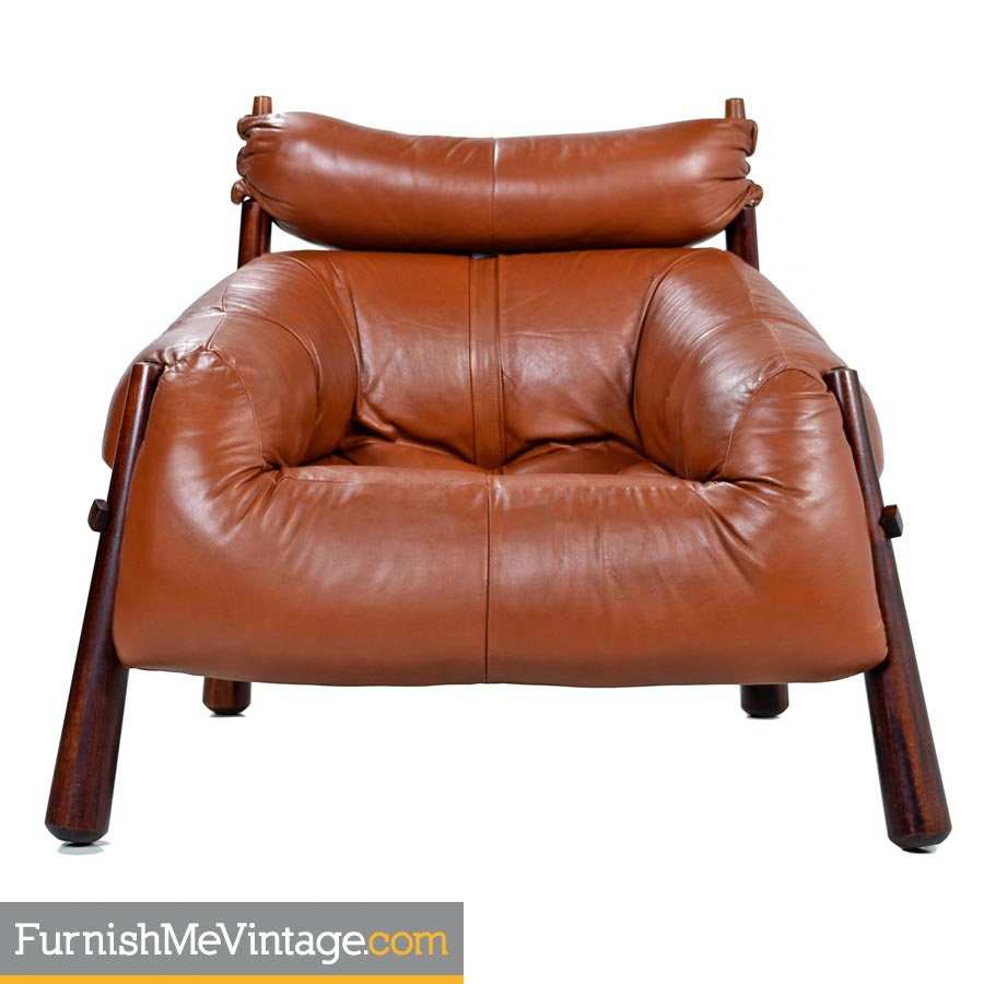 Captivating Percival Lafer,mp 81,leather,lounge Chairs,ottomans,rosewood
