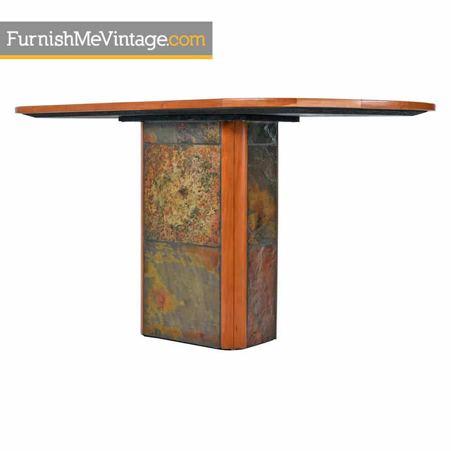 Paul Kingma Style Pedestal Console Table Made In South Africa