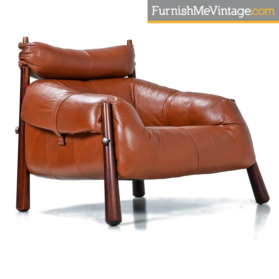 Superieur Percival Lafer,mp 81,leather,lounge Chairs,ottomans,rosewood