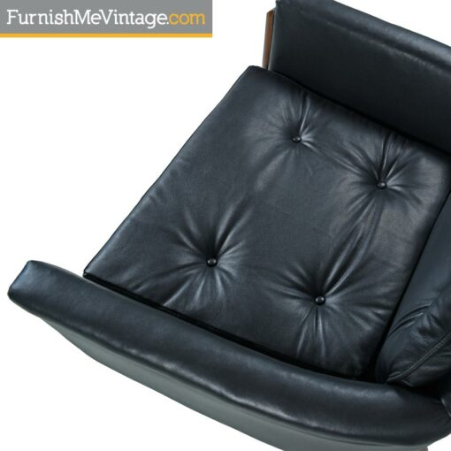 vintage,modern,leather,highback chair