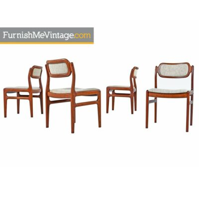 Danish Rosewood Dining Chairs - Niels Moller Danish Style