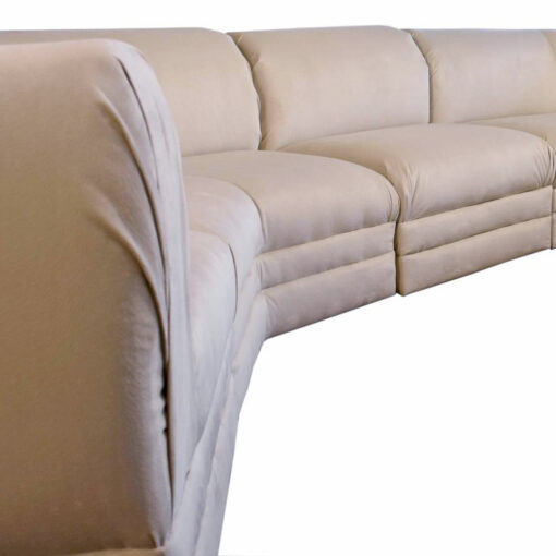 Hollywood Regency Milo Baughman sectional sofa