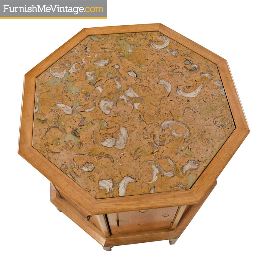 Thomasville Stone Top Coffee Table: Thomasville Horizon Commode Cabinet