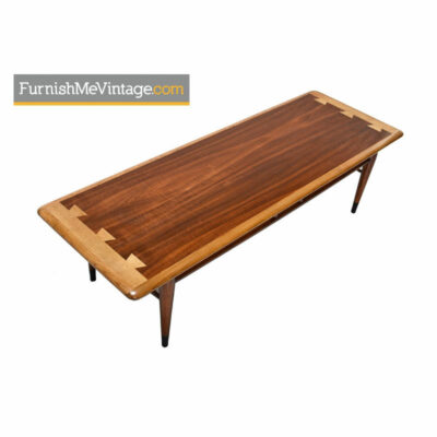 lane,acclaim,mid-century,modern,surfvboard,coffee table