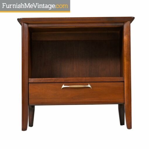 Drexel Modern Nightstand End Tables - Mid Century Modern