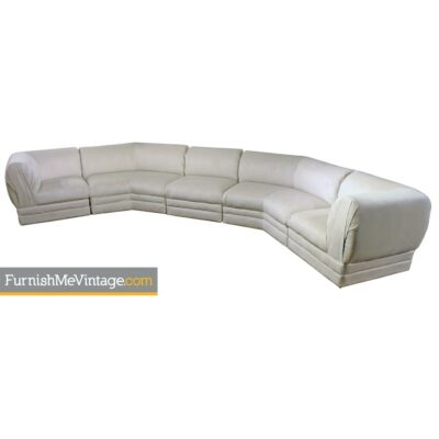 milo baughman sectional sofa,hollywood regency,modern,thayer coggin