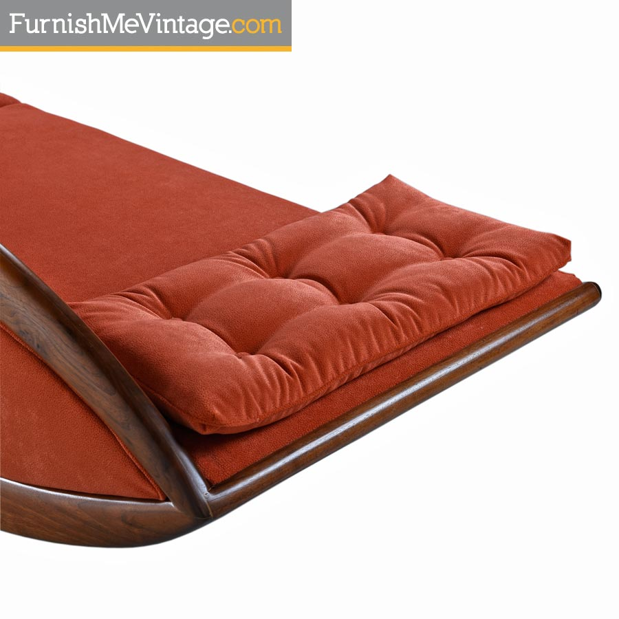 Etonnant Adrian Pearsall Asian Modern Walnut Gondola Couch