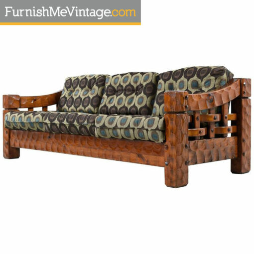 Null rustic pine sofa