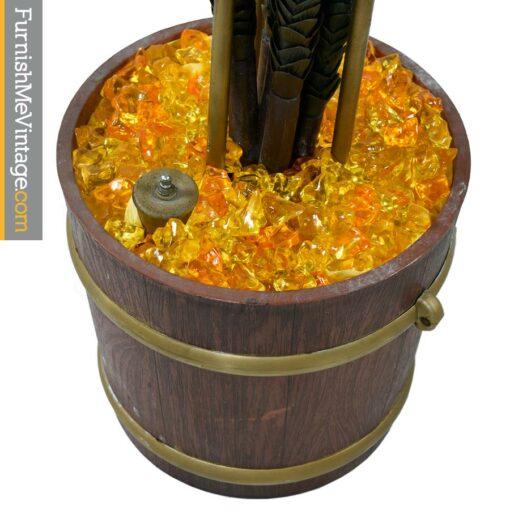 Retro Spaghetti Globe Goop Floor Lamp - Mid Century Modern
