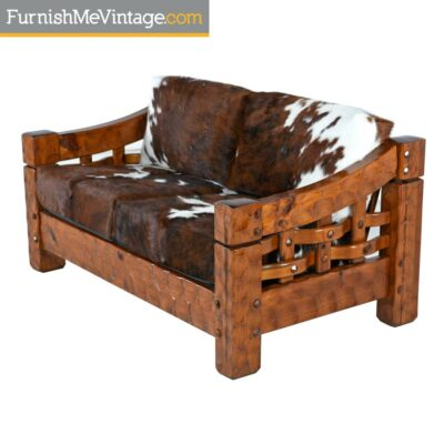NULL,adirondack furniture, adirondack chair, log cabin furniture, rustic sofa, log sofa, cowhide, leather