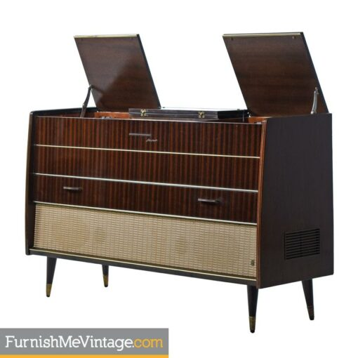 Grundig, Majestic, stereo, console,german,credenza,turntable