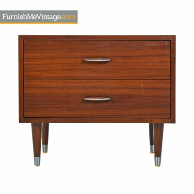 danish,modern,mahogany,nightstand