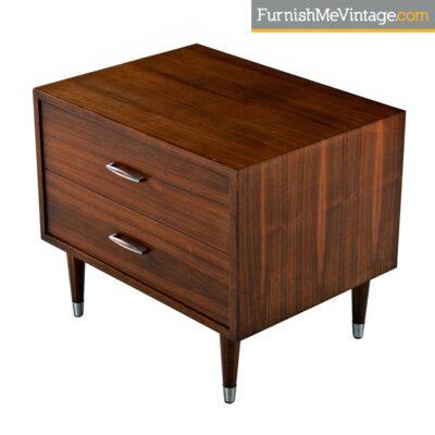 modern mahogany nightstand