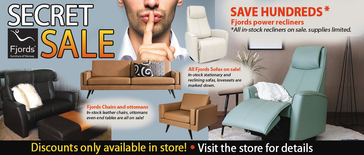 Fjords leather furniture sale recliners are leather sofas