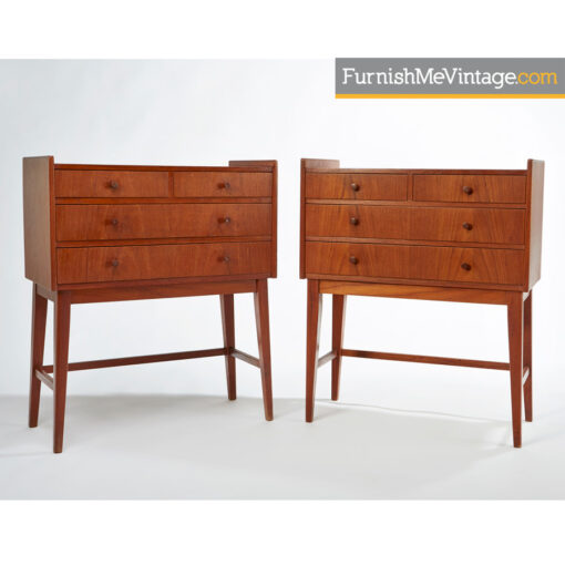 danish,modern,teak nightstands,scandinavian