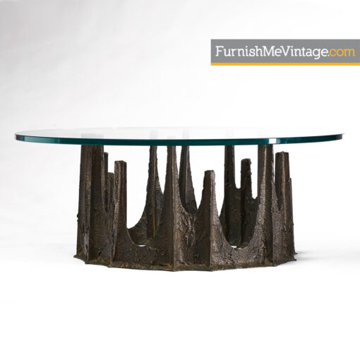 paul evans stalagmite, coffee table,brutalist,modern,1973