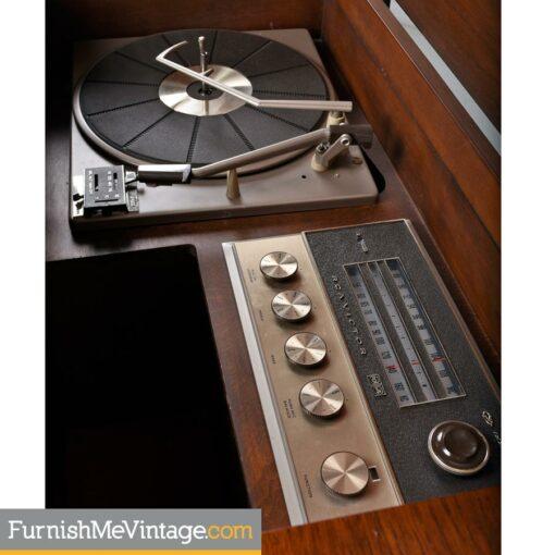 console stereo,record cabinet,credenza,RCA,audio,turntable
