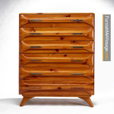 sculptured pine,highboy,dresser,franklin shockey,rustic,modern