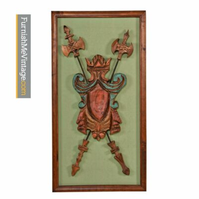 witco, wall art, cedar,gothic, carved wood