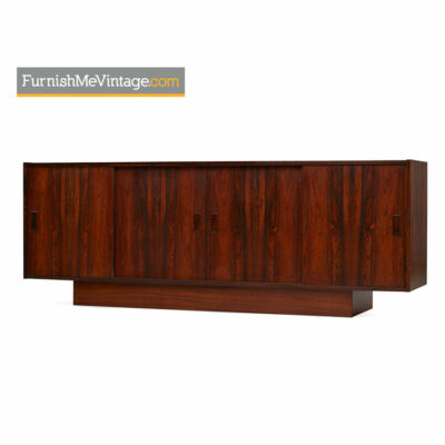 danish rosewood credenza,media cabinet,tv stand,scandinavian