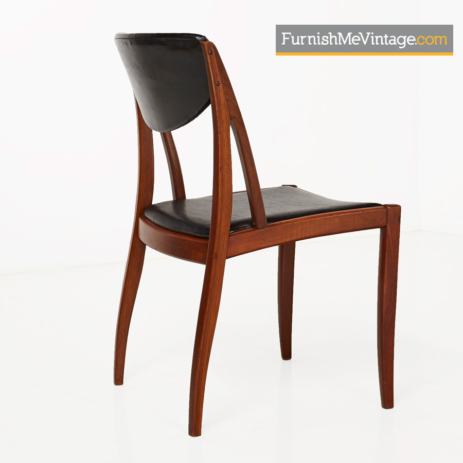Drexel Parallel,danish,modern,retro,dining Chairs,Barney Flagg