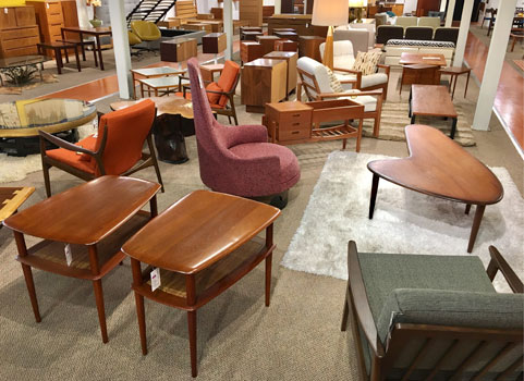 sold mid century modern and danish furniture