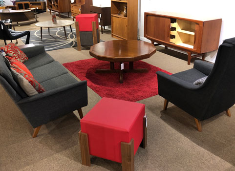 Mid Century Modern And Danish Living Room Furniture